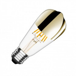 Ampoule LED ST64 E27 Dimmable Filament Reflect - ledpourlespros.fr