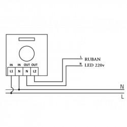 Interrupteur variateur schemas de montage