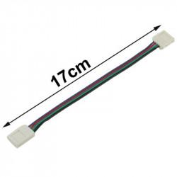 Câble Double Connecteur Rapide Ruban LED 12V RGB