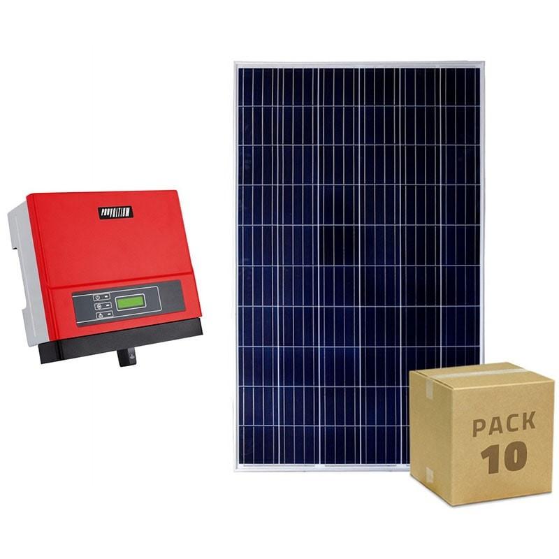 Pack photovoltaique de 3kW