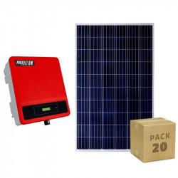Pack photovoltaique de 6kW