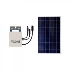 Pack Panneau Solaire Photovoltaïque et Onduleur 250W