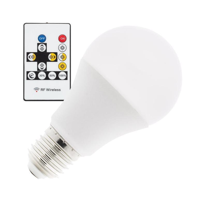 Ampoule LED E27 avec réglage de la couleur et de la puissance
