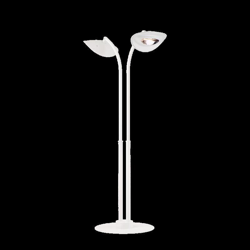 Lampadaire Chauffant à 2 Têtes - HOTDOOR Blanc - PHORMALAB