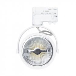 Spot LED COB Blanc Dimmable pour Rail Triphasé - CREE AR111
