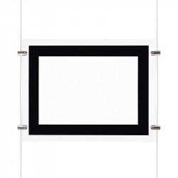 Affichage de vitrine led A4 - ledpourlespros.fr