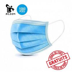 Masques médicaux à usage unique x 1000 - BLOOM - ledpourlespros.fr