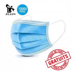 Masque de protection jetable x 10 000 - BLOOM - ledpourlespros.fr