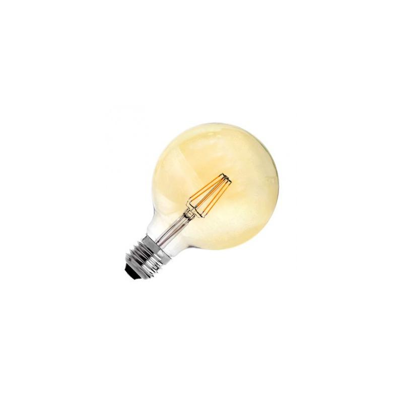 Ampoule LED E27 Variable Filament Suprême G125 6W OR