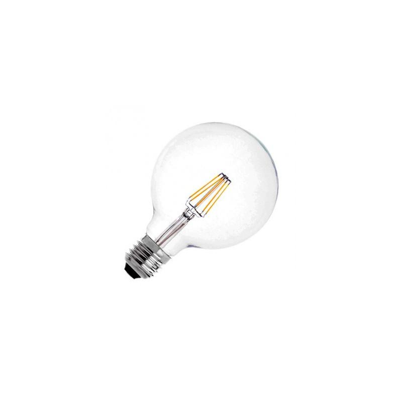 Ampoule LED E27 Variable Filament Suprême G125 6W