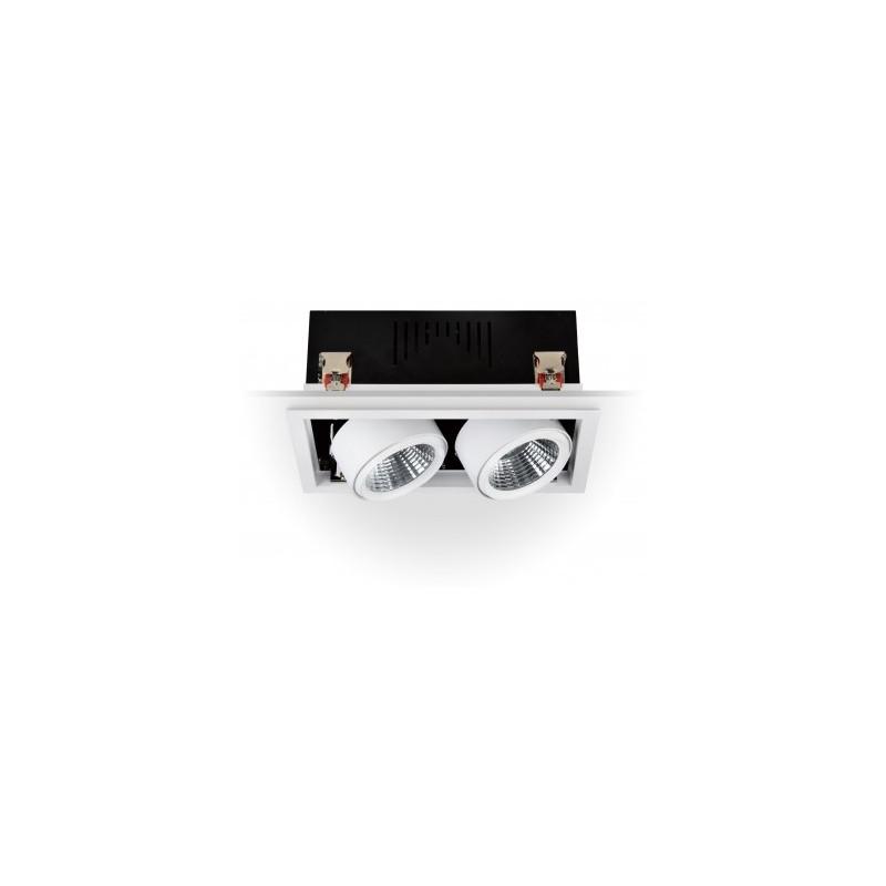 Projecteur LED Orientable COB 60W 3000K