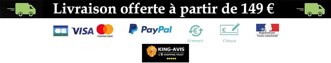 Livraison offerte à partir de 149€ (France Métropolitaine et Corse) * Relais colis - ledpourlespros.fr